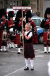Bagpipe Kids in Portree