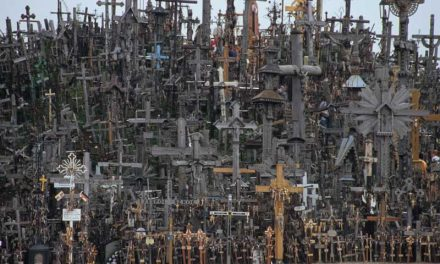 For Easter: The Hill of Crosses