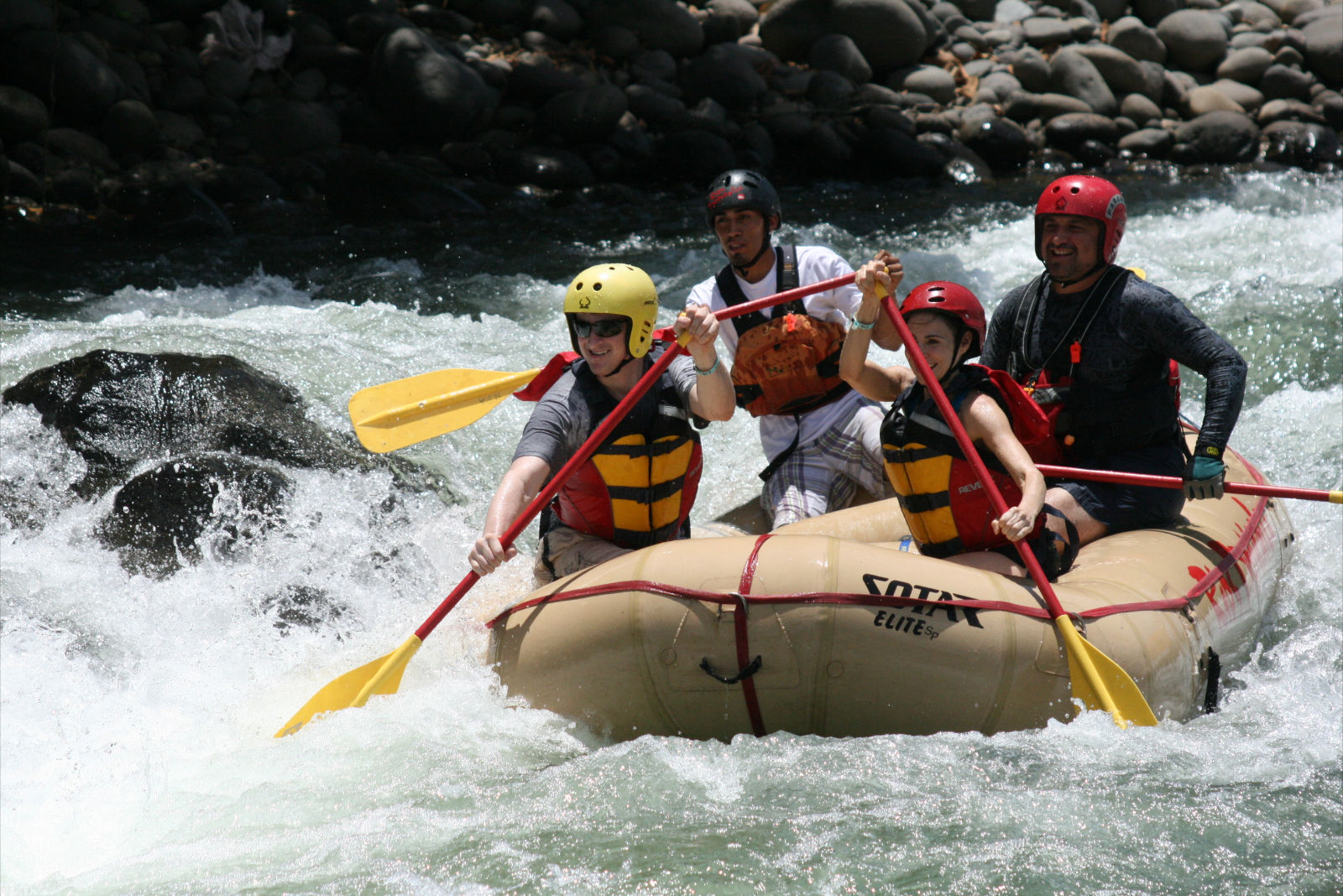 White Water Rafting on the Sarapiqui River