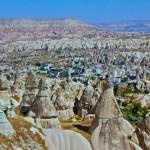 Touring Turkey in Cappadocia