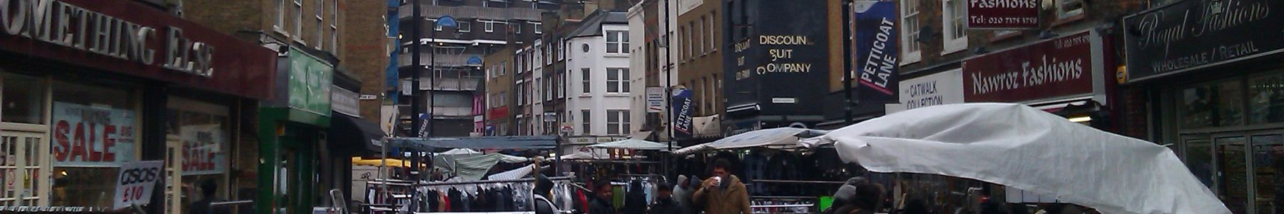 Friday Lunchtime at Petticoat Lane