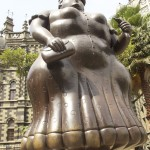 Botero Sculpture, Botero the woman, Medellin Colombia,Botero Plaza Medellin,Medellin Colombia,the woman