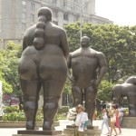 Botero Sculpture, Botero Adam and Eve, Medellin Colombia,Botero Plaza Medellin,Medellin Colombia, Adam and Eve