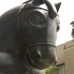 Botero Sculpture, Botero Horse, Medellin Colombia,Botero Plaza Medellin,Medellin Colombia, the horse