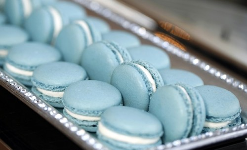 Macarons -Blue2