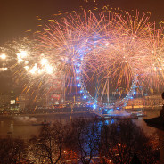 London Lights up for New Year