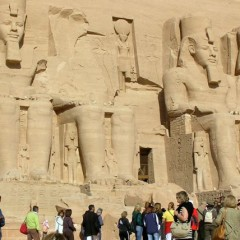 Then and Now — Abu Simbel