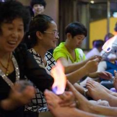 China: Fiery Foot Massage!