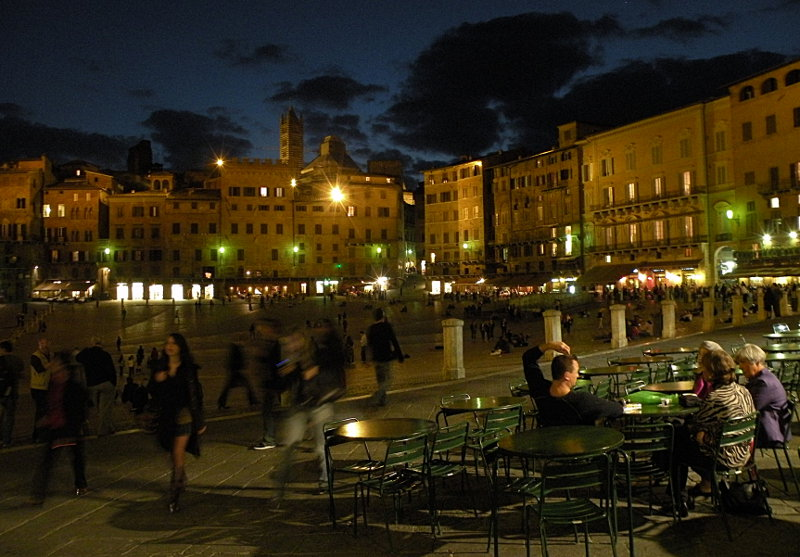 Siena After Dark