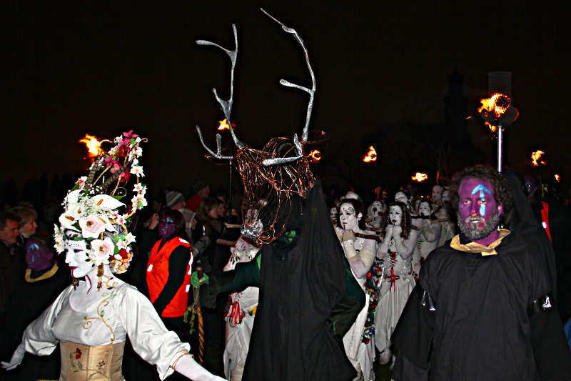 Procession at Beltane