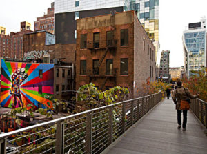 View of Chelsea from the High Line