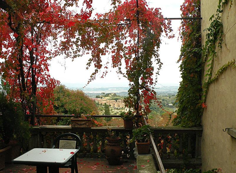 Montepulciano terrace