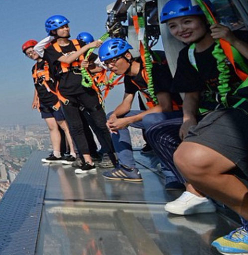 Glass Walkway <br>For a Shanghai Tower