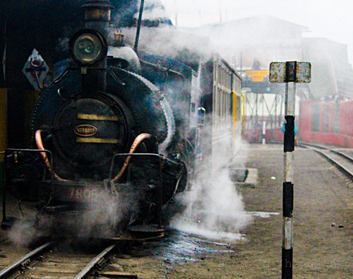 The Toy-Train of Darjeeling