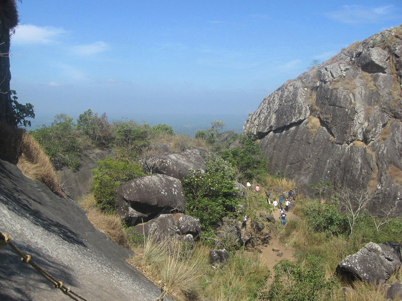 TApproach to Edakkal Caves