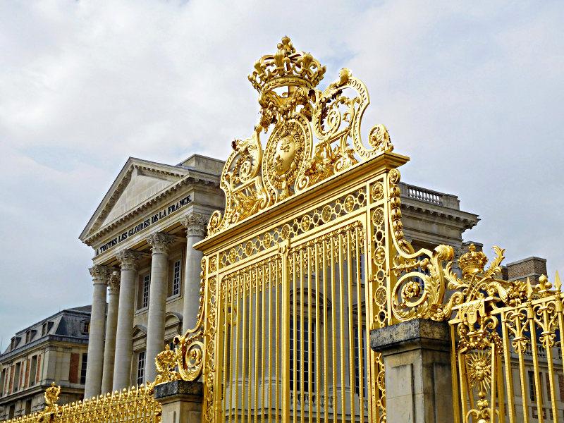 Versailles Front Gate