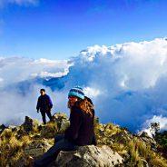 Among the CloudsOn Tajumulco, Guatemala
