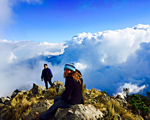 Among the Clouds<br>On Tajumulco, Guatemala