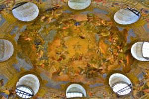Vienna frescoed ceiling