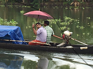 Locals heading to work