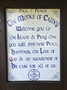 Wish from the Monks on Caldey Island