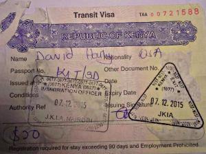 1 day visa