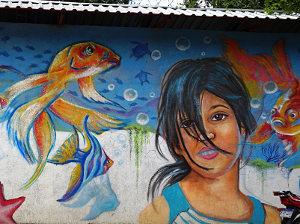 Cantarranas Mural