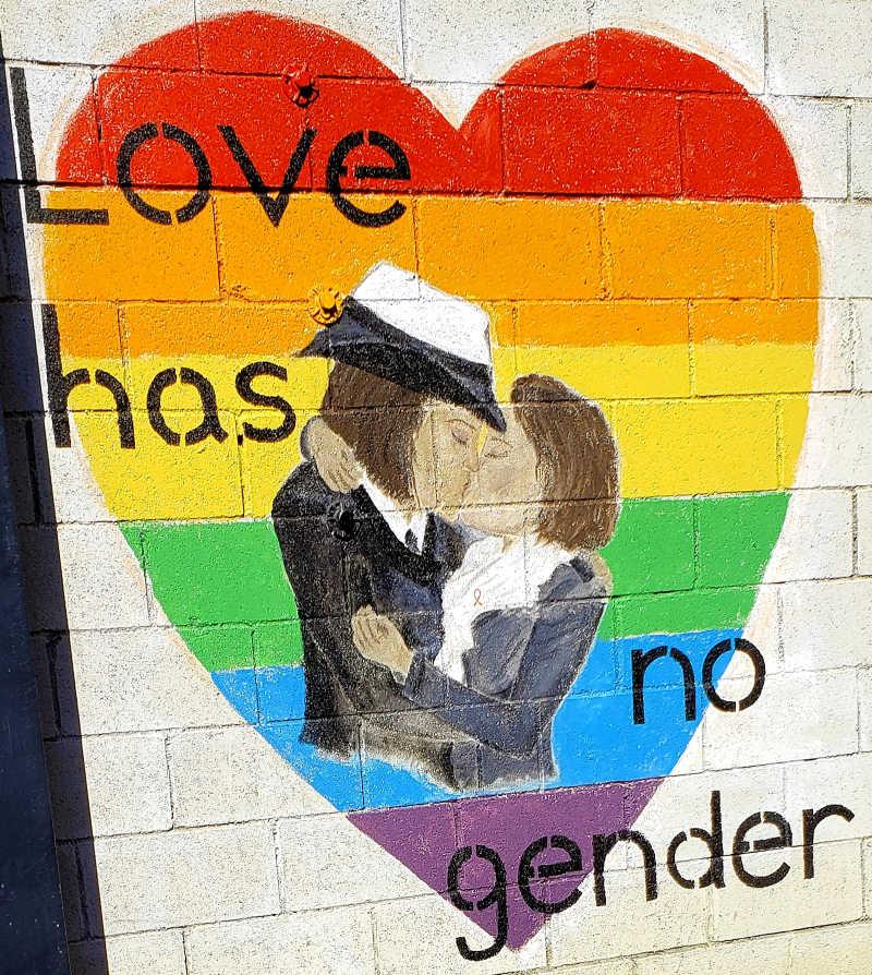 Love Has No Gender, urban art