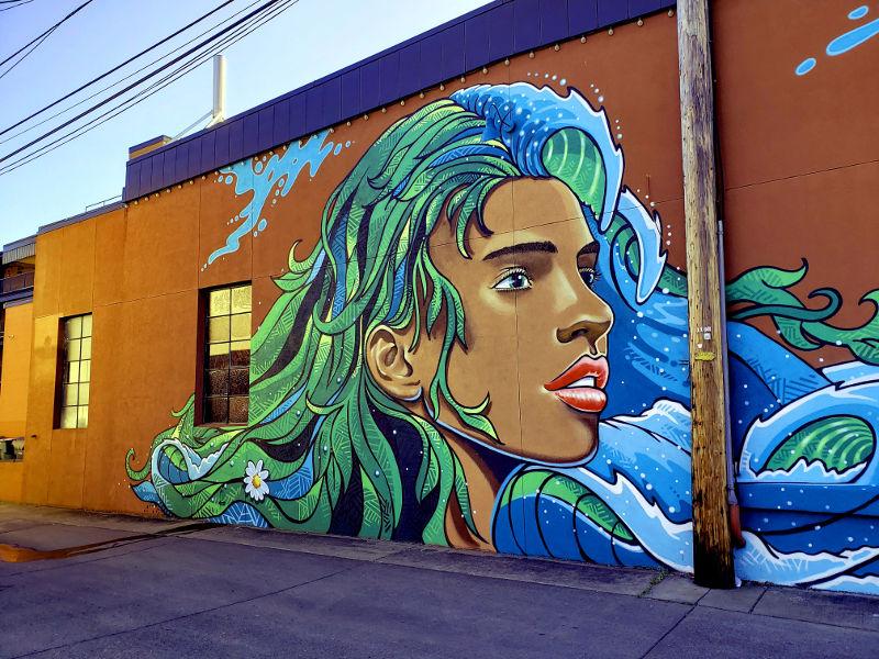 Maya, urban art