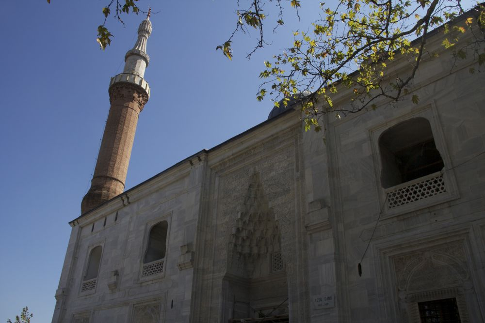 The Green Mosque Reopens