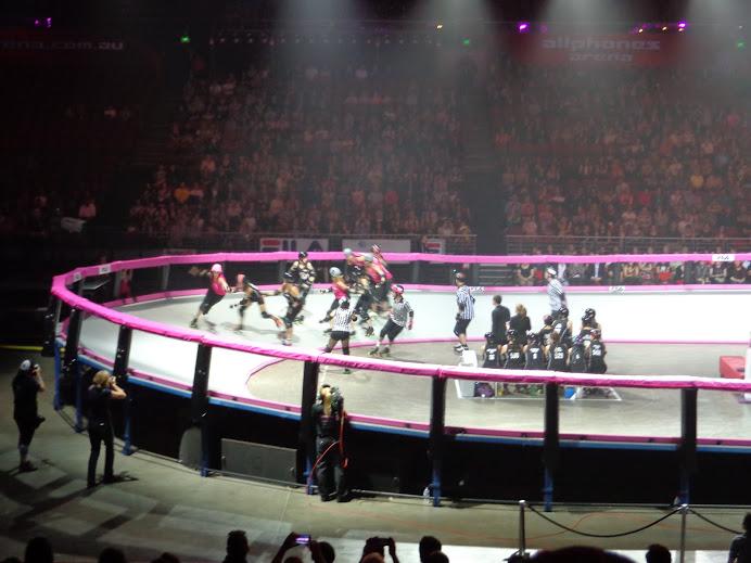 Roller Derby Rolls into Australia