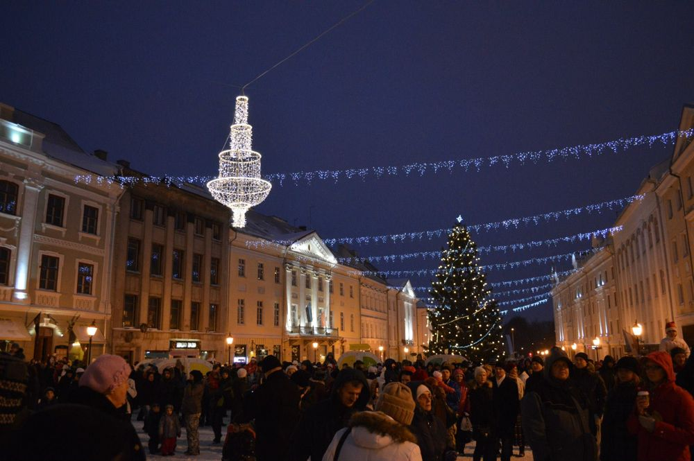 Tartu, Estonia, and Christmas
