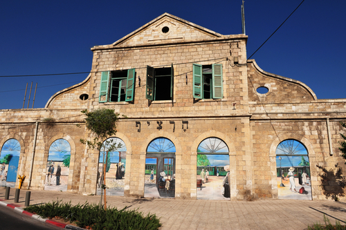 Train Station Turns Entertainment Hotspot in Jerusalem