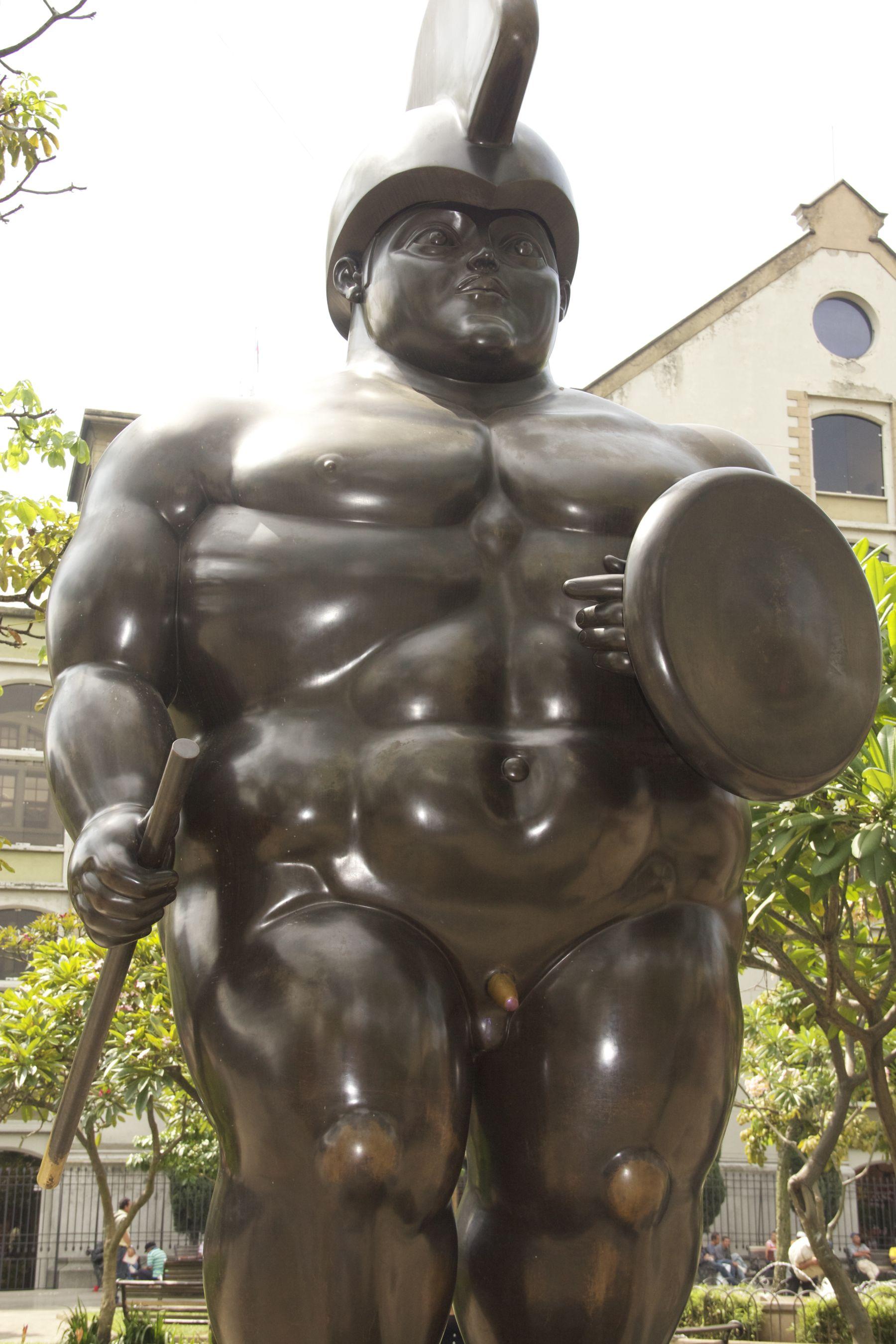 Botero Sculpture, Botero Plaza Medellin Colombia the