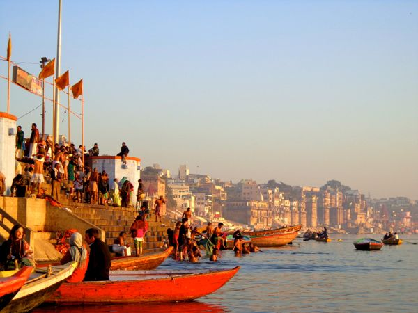 Sunrise on the Holy Ganges