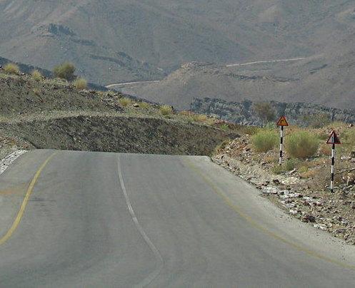Desert Drive-through, Oman