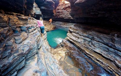 Hiking the Gorges of Karijini National Park