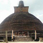 An Awakening at Jetavanaramaya Stupa <br>in Anuradhapura, Sri Lanka