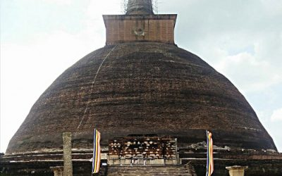 An Awakening at Jetavanaramaya Stupa in Anuradhapura, Sri Lanka