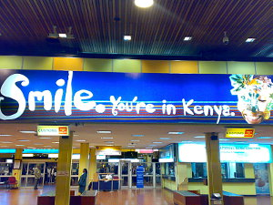 """""""No Time for the Lion Park"""" <br> Nairobi Airport, Kenya"""