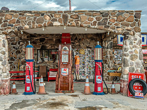 The Odd Town of Oatman, Arizona:  A Route 66 Adventure