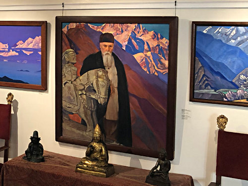 A Little Treasure in New York City: <br>Nicholas Roerich Museum and the Neighborhood of Morningside Heights