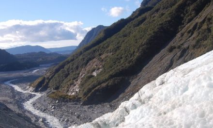 Crevasses and Ice Caves – <br> A Hike Up Franz Josef Glacier, New Zealand
