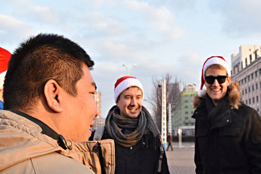 A White Christmas in North Korea