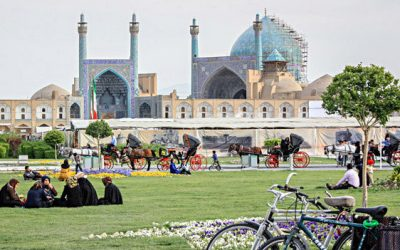Moved by the Majesty of Isfahan:A Pearl in the Persian Empire