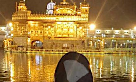 Golden Temple at Amritsar, India