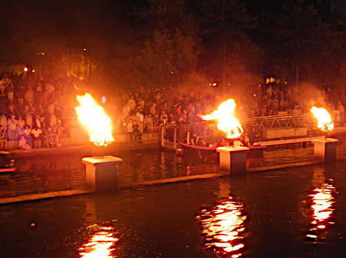 An Encounter with Waterfire in Providence